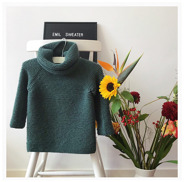 gestrickter Sweater