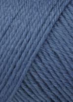 Wolle in Blaugrau