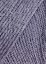 Wolle in Dunkelflieder