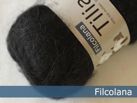 Filcolana Wolle in Schwarz