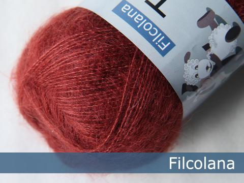 Filcolana Wolle in Rot