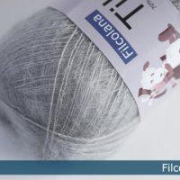 Filcolana Wolle in Grau