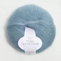 Sandnes Garn - Tynn Silk Mohair in Hellblau