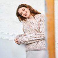 Musterstrick für Sweater