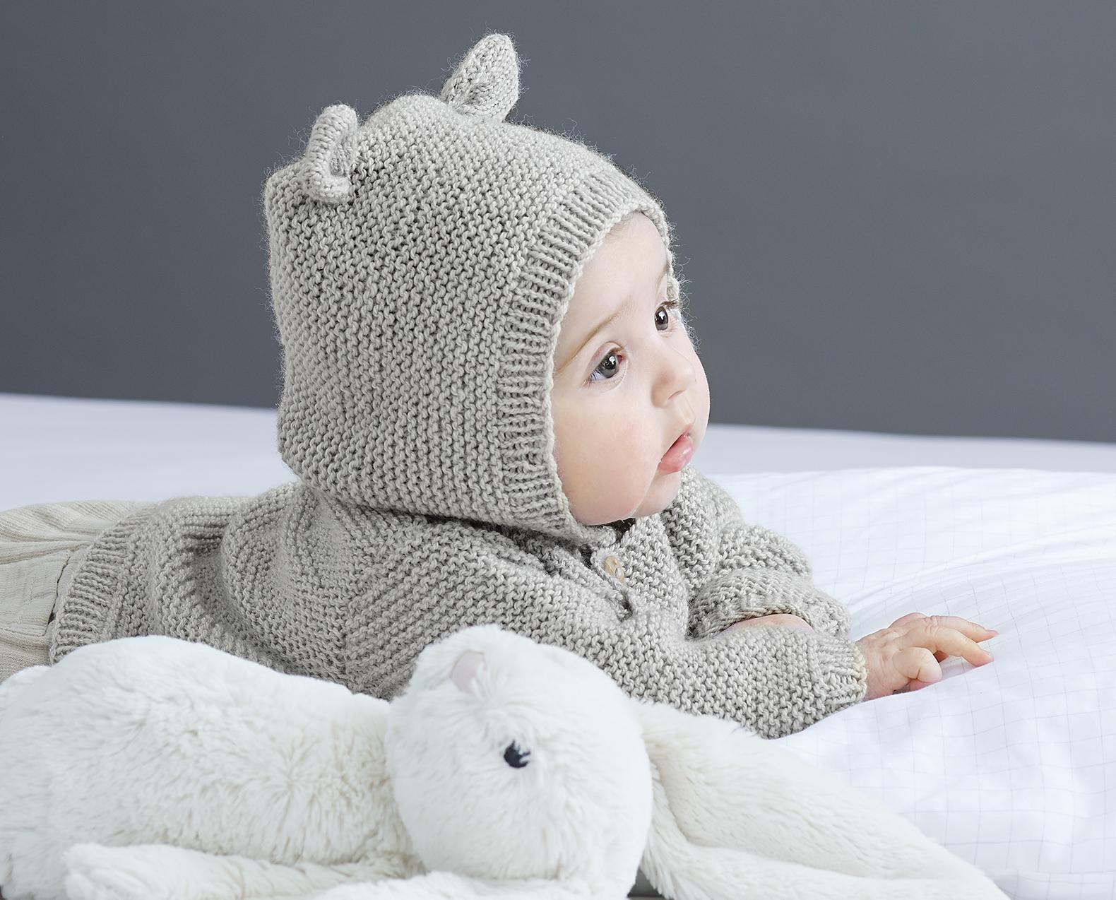 Strickjacke für Babys