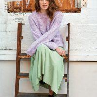 Grobgemaschter Stricksweater